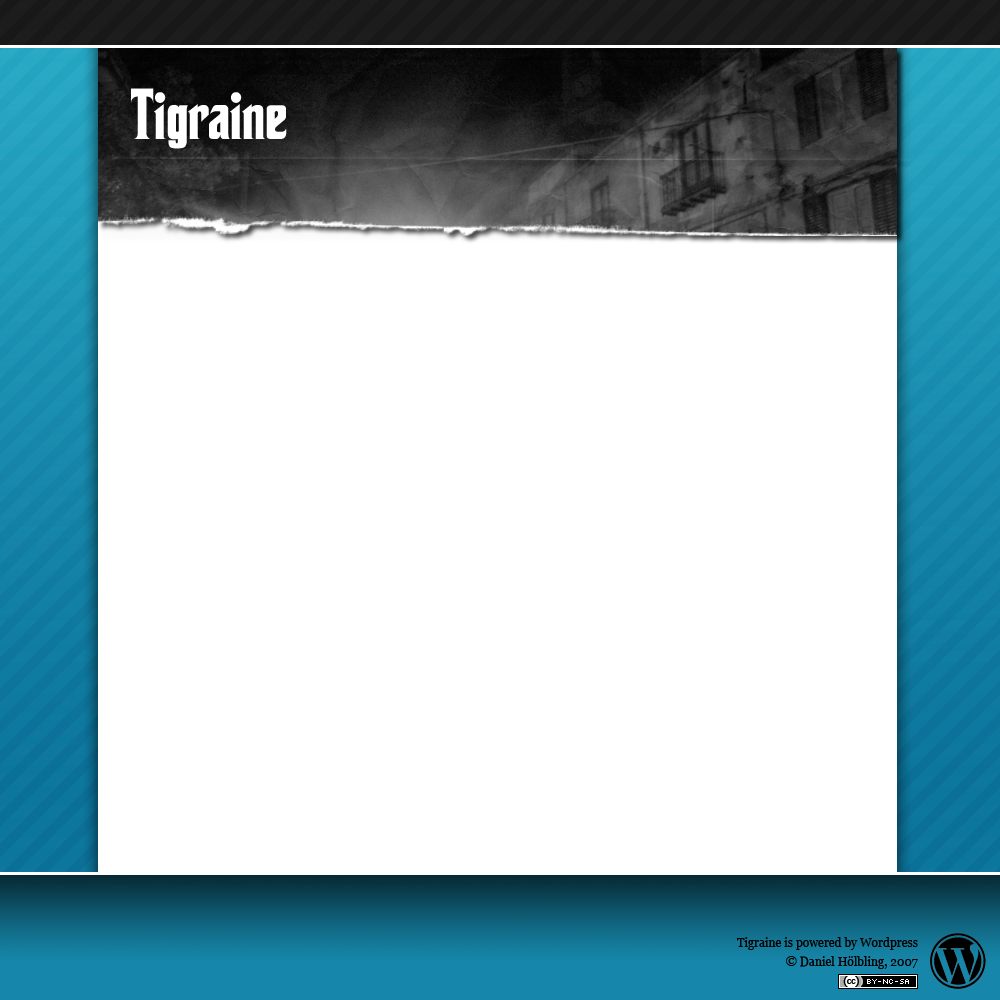 Tigraine Page design proposal